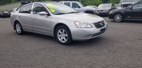 2004 Nissan Altima for sale at Russo's Auto Exchange LLC in Enfield CT