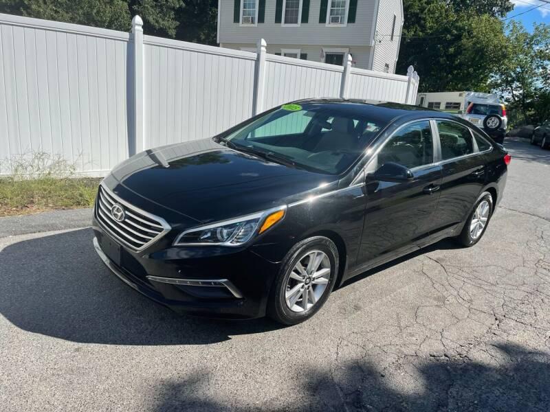 2015 Hyundai Sonata for sale at MOTORS EAST in Cumberland RI