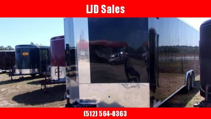 2020 Look Trailers 8.5 x 24 x 7 TA for sale at LJD Sales in Lampasas TX