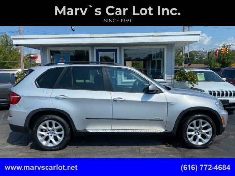 2012 BMW X5 for sale at Marv`s Car Lot Inc. in Zeeland MI