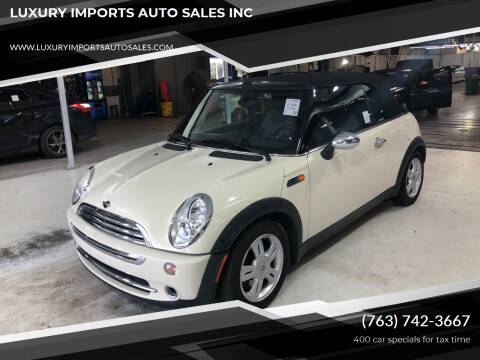 2006 MINI Cooper for sale at LUXURY IMPORTS AUTO SALES INC in North Branch MN
