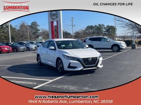 2020 Nissan Sentra for sale at Nissan of Lumberton in Lumberton NC