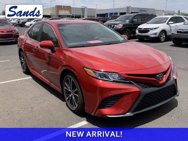 2019 Toyota Camry for sale at Sands Chevrolet in Surprise AZ