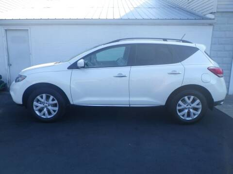 2012 Nissan Murano for sale at VICTORY AUTO in Lewistown PA