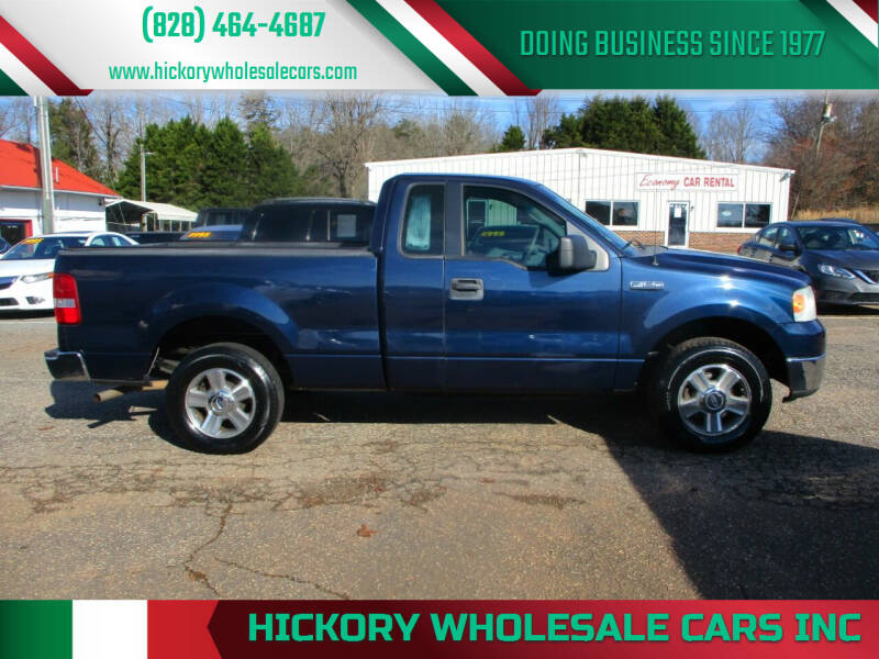 2006 Ford F-150 for sale at Hickory Wholesale Cars Inc in Newton NC