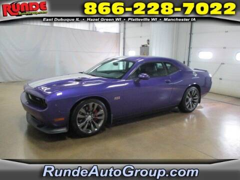 2014 Dodge Challenger for sale at Runde PreDriven in Hazel Green WI