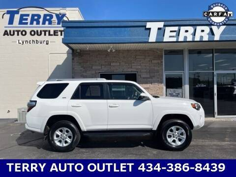 2017 Toyota 4Runner for sale at Terry Auto Outlet in Lynchburg VA