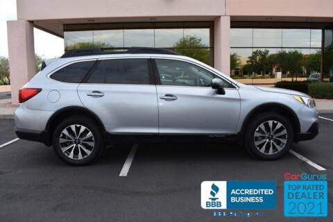 2017 Subaru Outback for sale at GOLDIES MOTORS in Phoenix AZ