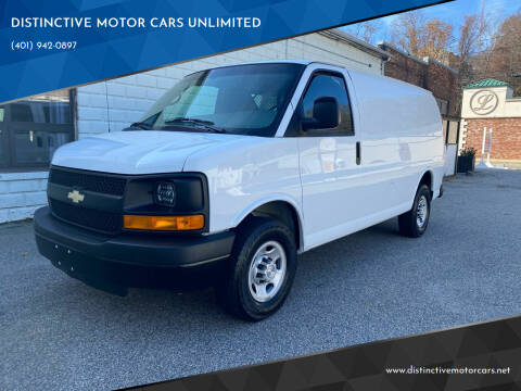 2015 Chevrolet Express Cargo for sale at DISTINCTIVE MOTOR CARS UNLIMITED in Johnston RI