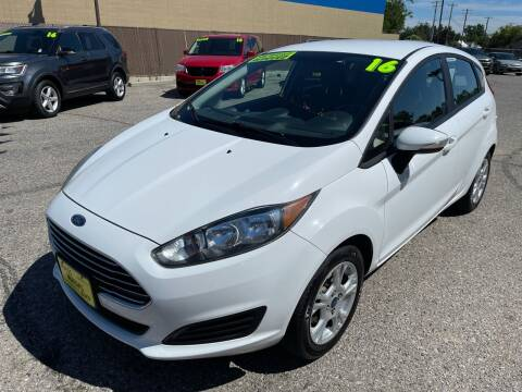 2016 Ford Fiesta for sale at MASS Motors West Fairview in Boise ID