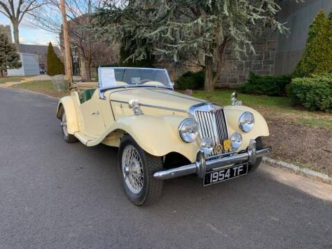 1954 MG TF for sale at Gullwing Motor Cars Inc in Astoria NY