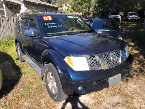 2007 Nissan Pathfinder for sale at Castagna Auto Sales LLC in Saint Augustine FL