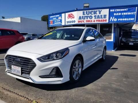2018 Hyundai Sonata for sale at Lucky Auto Sale in Hayward CA