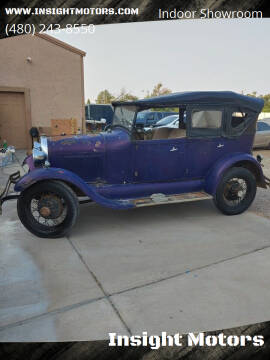 1928 Ford Model A for sale at Insight Motors in Tempe AZ