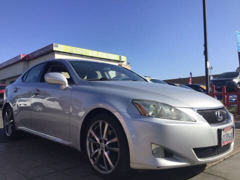 2008 Lexus IS 250 for sale at CARCO SALES & FINANCE in Chula Vista CA