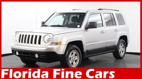 2014 Jeep Patriot for sale at Florida Fine Cars - West Palm Beach in West Palm Beach FL