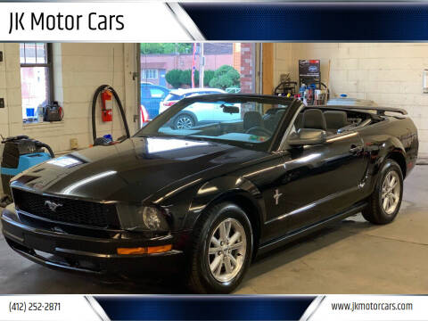 2008 Ford Mustang for sale at JK Motor Cars in Pittsburgh PA