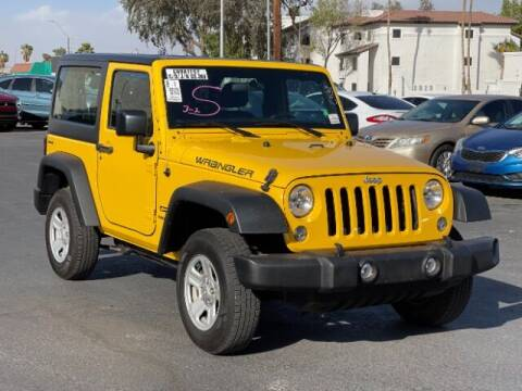 2015 Jeep Wrangler for sale at Brown & Brown Wholesale in Mesa AZ