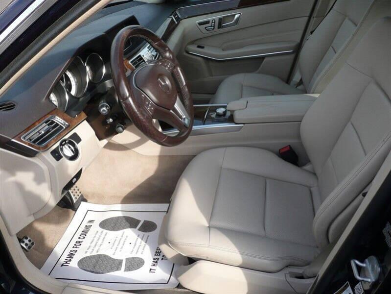 2014 Mercedes-Benz E-Class E350 4MATIC Sedan - East Windsor CT