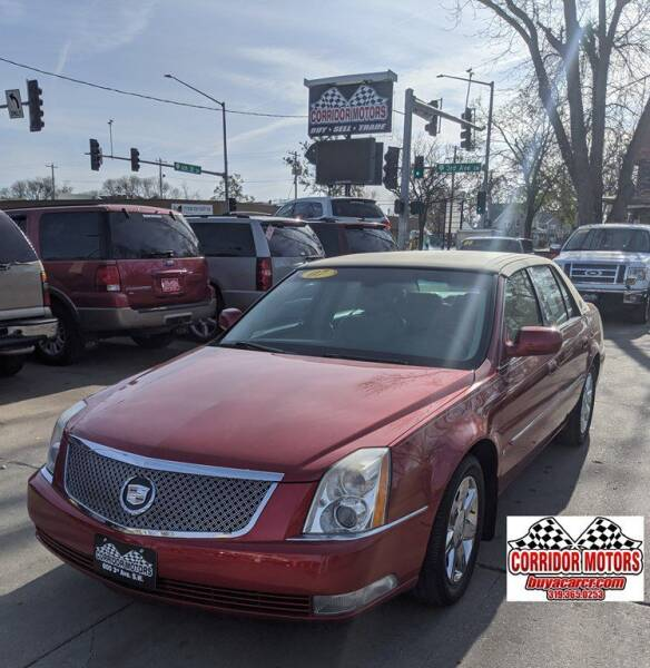 2007 Cadillac DTS for sale at Corridor Motors in Cedar Rapids IA