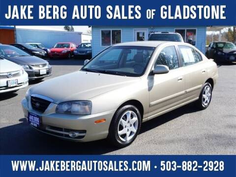 2005 Hyundai Elantra for sale at Jake Berg Auto Sales in Gladstone OR