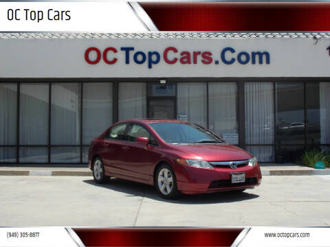 2007 Honda Civic for sale at OC Top Cars in Irvine CA