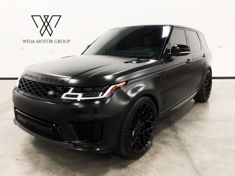 2018 Land Rover Range Rover Sport for sale at Wida Motor Group in Bolingbrook IL