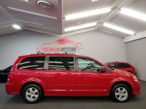 2012 Dodge Grand Caravan for sale at Premium Motors in Villa Park IL