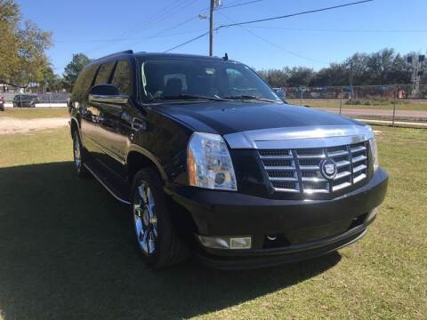 2011 Cadillac Escalade ESV for sale at MISSION AUTOMOTIVE ENTERPRISES in Plant City FL