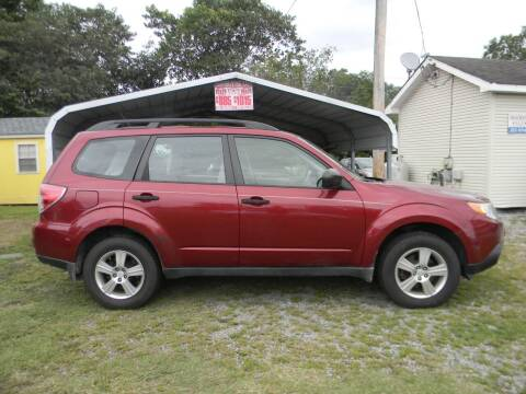 2011 Subaru Forester for sale at SeaCrest Sales, LLC in Elizabeth City NC