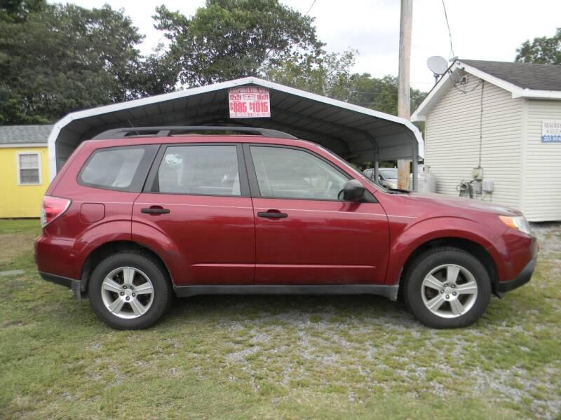 2011 Subaru Forester for sale at SeaCrest Sales, LLC in Elizabeth City NC