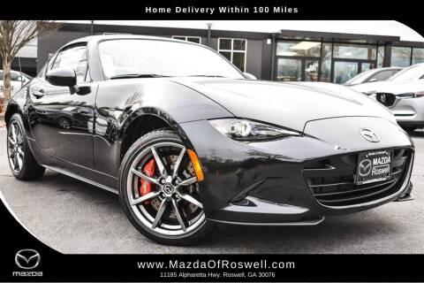 2020 Mazda MX-5 Miata RF for sale at Mazda Of Roswell in Roswell GA