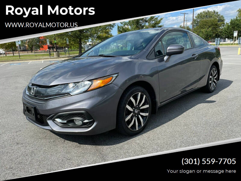 2014 Honda Civic for sale at Royal Motors in Hyattsville MD