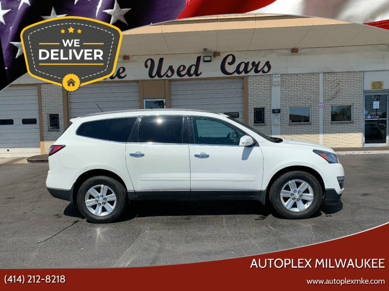 2013 Chevrolet Traverse for sale at Autoplex 2 in Milwaukee WI