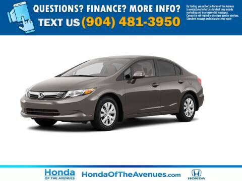 2012 Honda Civic for sale at Honda of The Avenues in Jacksonville FL