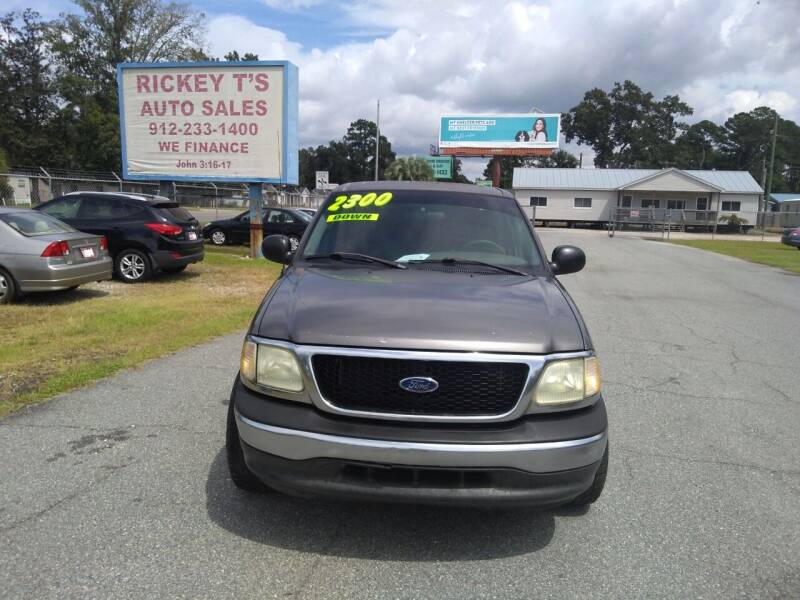 2003 Ford F-150 for sale at Rickey T's Auto Sales in Garden City GA