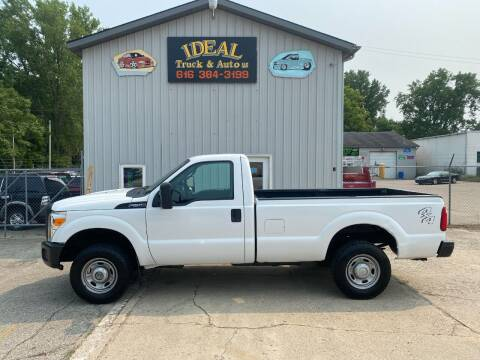 2012 Ford F-250 Super Duty for sale at IDEAL TRUCK & AUTO LLC in Coopersville MI