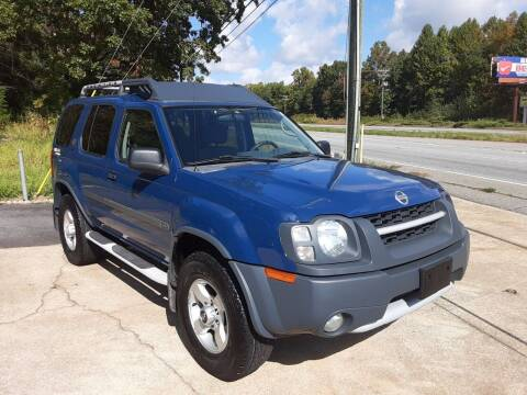 2004 Nissan Xterra for sale at Catawba Valley Motors in Hickory NC