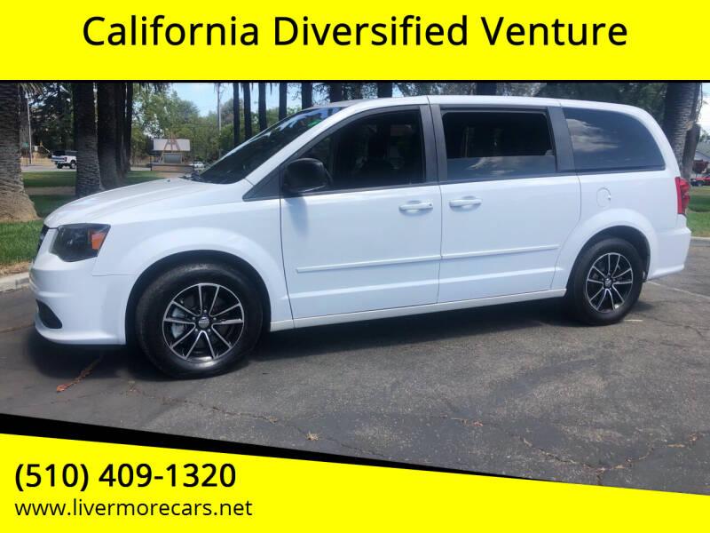2015 Dodge Grand Caravan for sale at California Diversified Venture in Livermore CA