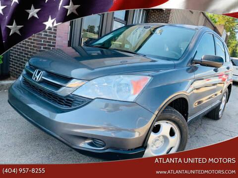 2010 Honda CR-V for sale at Atlanta United Motors in Buford GA