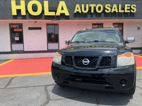 2008 Nissan Armada for sale at HOLA AUTO SALES CHAMBLEE- BUY HERE PAY HERE - in Atlanta GA
