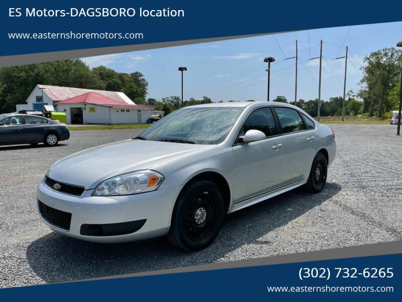 2012 Chevrolet Impala for sale at ES Motors-DAGSBORO location in Dagsboro DE