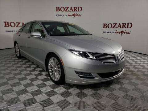 2016 Lincoln MKZ for sale at BOZARD FORD in Saint Augustine FL