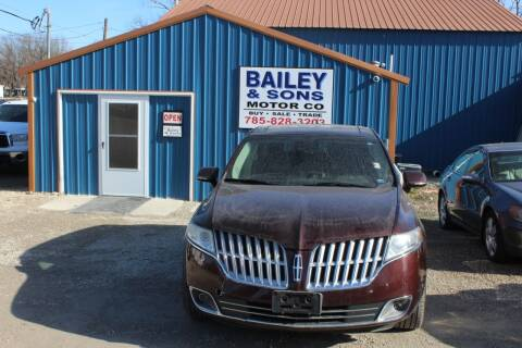 2012 Lincoln MKT for sale at Bailey & Sons Motor Co in Lyndon KS