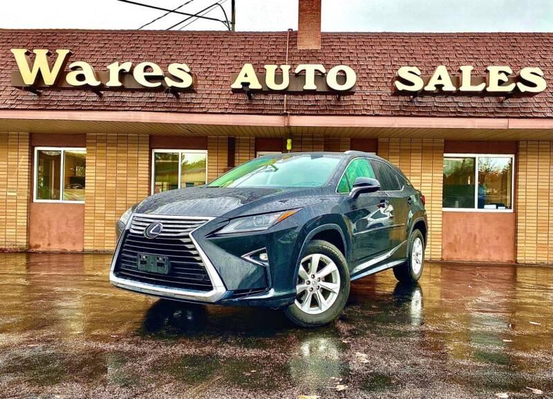 2017 Lexus RX 350 for sale in Traverse City, MI
