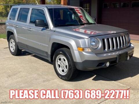 2016 Jeep Patriot for sale at Affordable Auto Sales in Cambridge MN