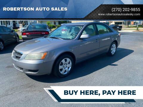 2007 Hyundai Sonata for sale at ROBERTSON AUTO SALES in Bowling Green KY