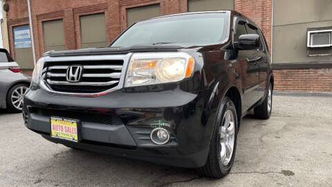 2012 Honda Pilot for sale at Rocky's Auto Sales in Worcester MA
