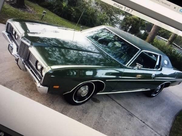 1972 Ford Galaxie 500 for sale in Cadillac, MI