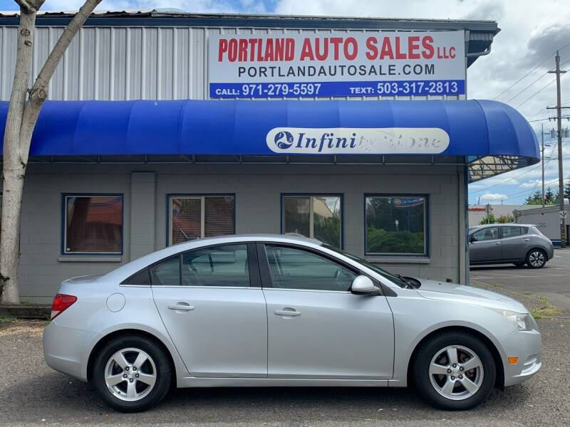 2013 Chevrolet Cruze for sale at PORTLAND AUTO SALES LLC. in Portland OR